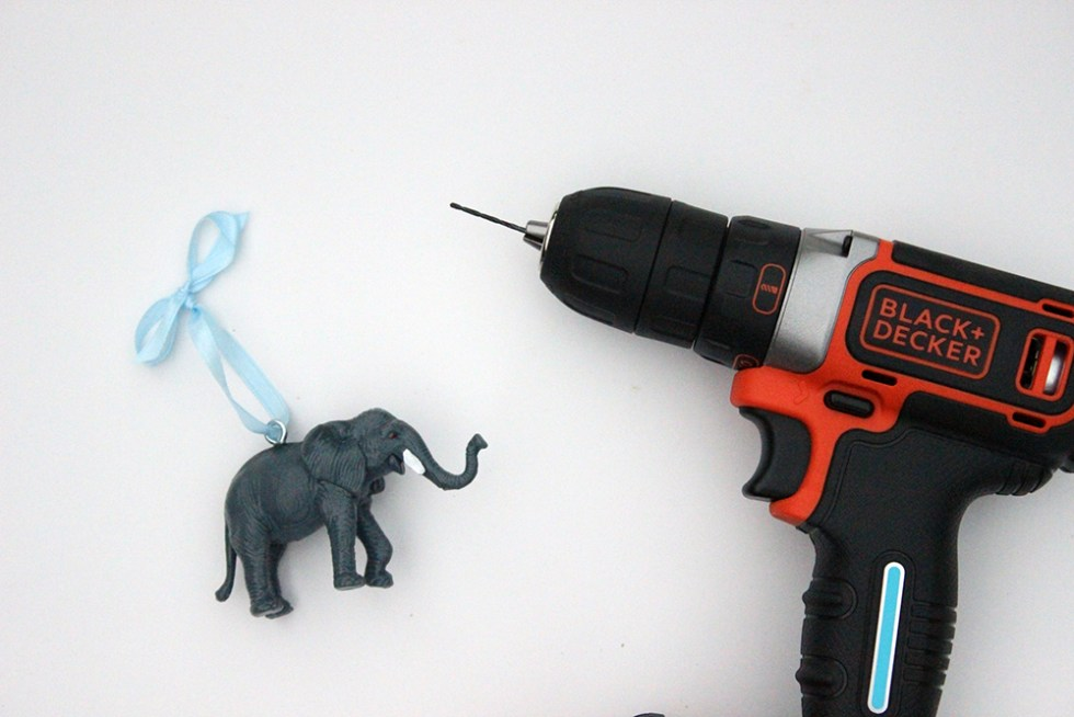 Make your own ornaments from old toys