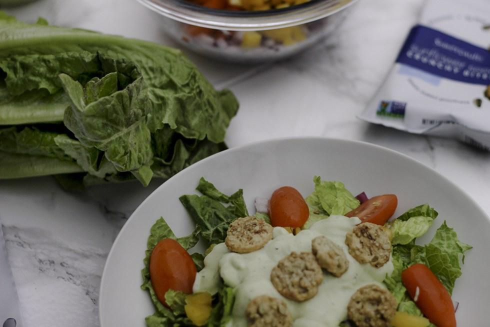 Easy recipe for avocado ranch dressing