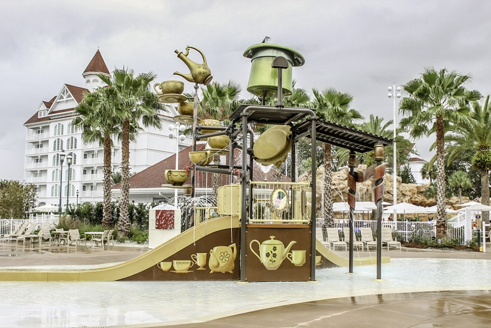 The pool play area for kids at The Grand Floridian