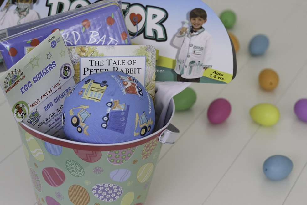Cute and easy Easter basket idea with incredibundles