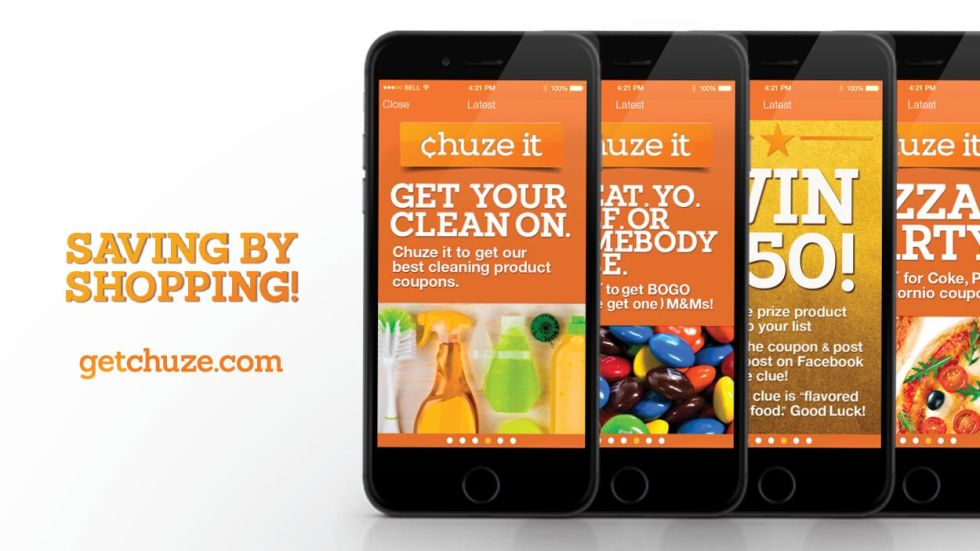 Save Money by shopping with Chuze
