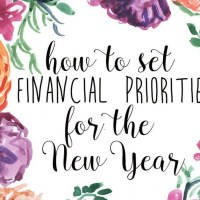 How to Set Financial Goals for the New Year