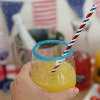 4th of July Party Mimosa Bar