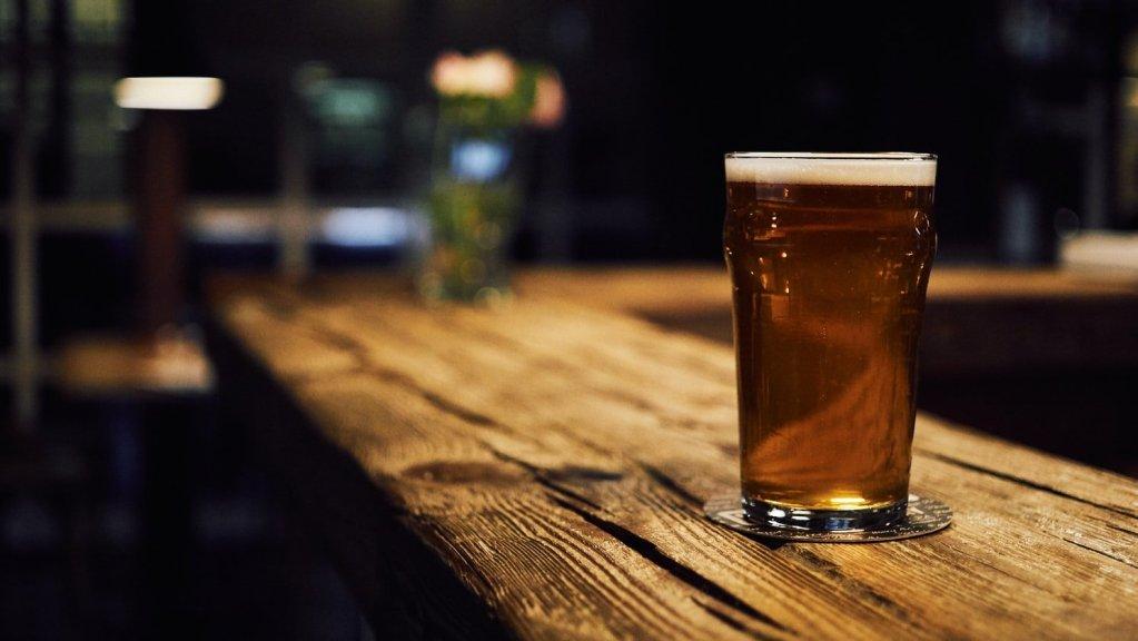 Restaurant worker shift drink
