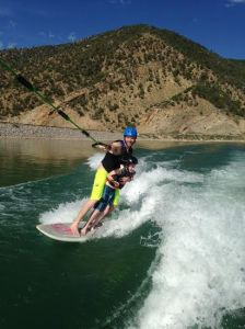 Nathan Julyk is an ASBC Send a Kid to Camp grant recipient who learned waterskiing at camp Ascendigo in Glenwood Springs (formerly Extreme Sports Camp). The camp is autism-specific and it has broad benefits beyond the fun!