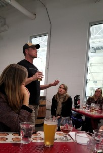 """Andy Parker, Avery's reigning """"barrel herder"""" explains the ups and downs of blind tastings, and what it takes to make the cut from barrel to bottle."""