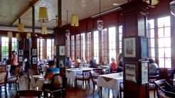 Cafe Batavia has a lot of colonial charm