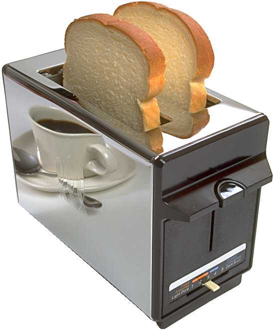 Accidentally, inadvertently, mistakenly...LOVE your toaster (6/6)