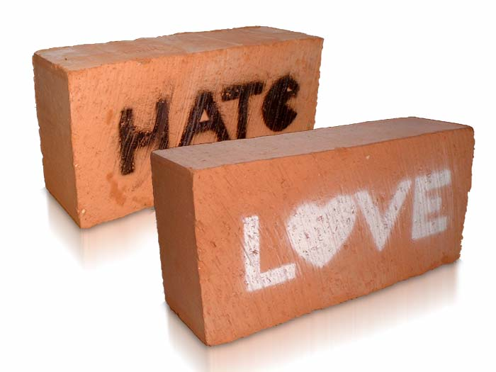 Heavy footprints of love and hate  (3/5)