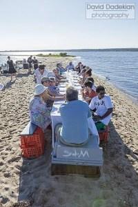 Dinner table on a sandbar 2