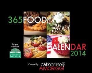 Catherine Amoriggi's 365 Food Calendar 2014 to support the RI Community Food Bank