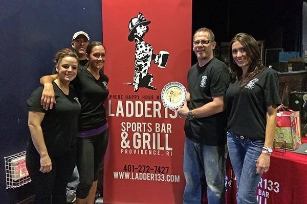 Ladder 133 Sports Bar & Grill, First Place winners at the Lord of the Wings