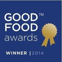 Good Food Awards Winner 2014
