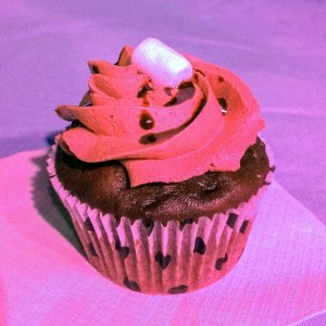 The CupCAKE Contessas winning entry, a Mexican Hot Chocolate cupcake