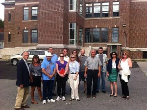 Members of the RI Food Policy Council tour Hope & Main