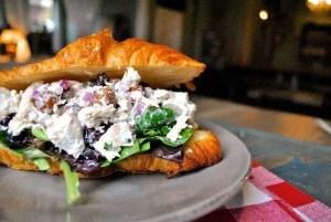 Easy Entertaining's Cranberry Pecan Chicken Salad Croissantq