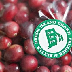 Rhode Island grown cranberries
