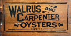 Walrus and Carpenter Oysters logo