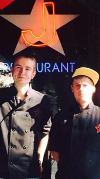 Left: Ryan Poutre, Head Chef / Right: Derek Wood, Sous Chef