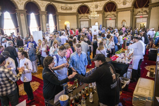 The Grand Tasting at the 2015 Festival. Photo by Stacey Doyle Photography