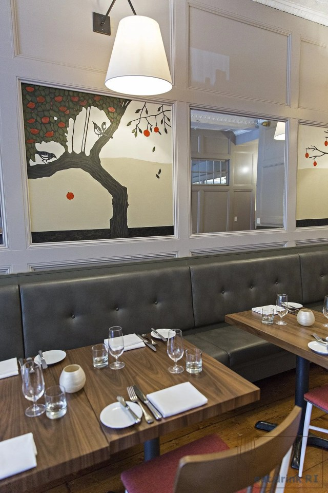 Dining room at Persimmon (click to make larger)