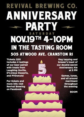 Revival Brewing Co. Anniversary Party