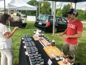The Backyard Food Company at Blackbird Farm Farmers Market 2017