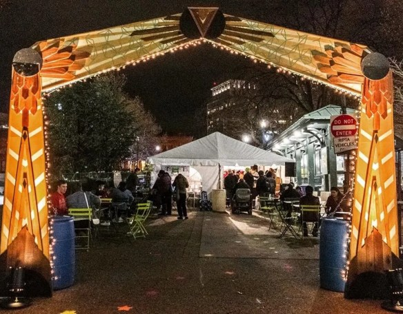 2017 PVD Winter Lights Market