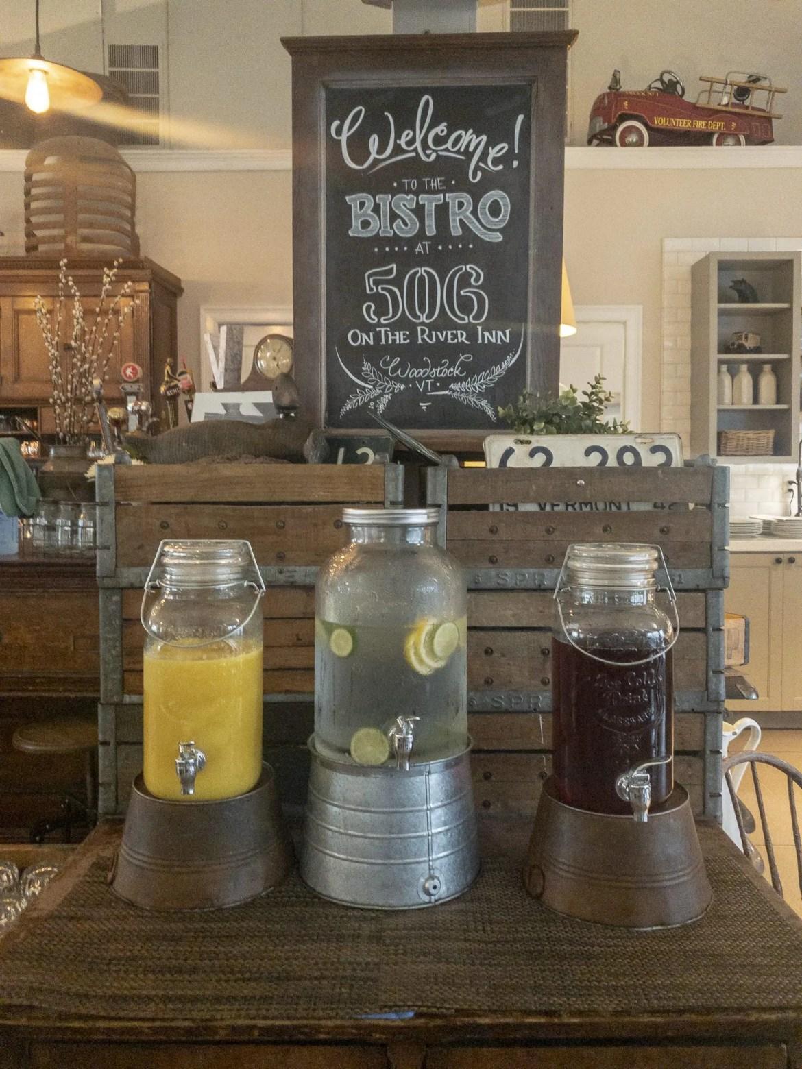 506 On The River Inn Farmhouse Kitchen Breakfast