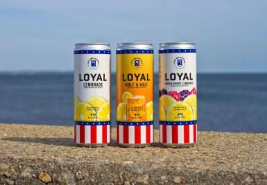 Loyal 9 Cocktails: Loyal 9 Lemonade, Loyal 9 Half & Half and Loyal 9 Mixed Berry Lemonade