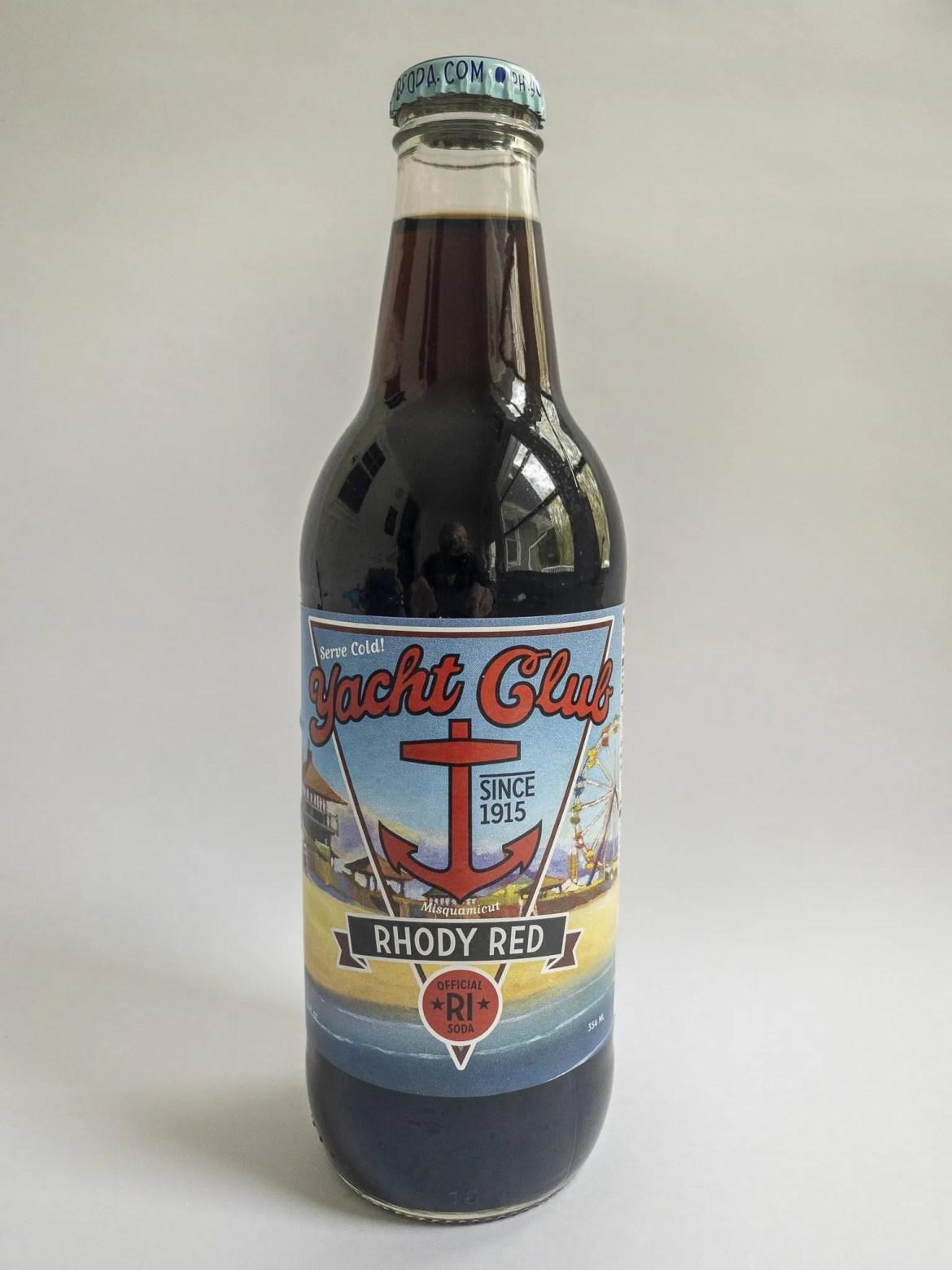 Yacht Club Bottling Works Rhody Red bottled