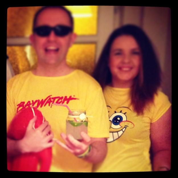 Baywatch & Sponge Bob