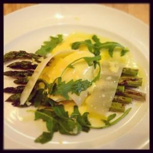 Char Grilled Asparagus