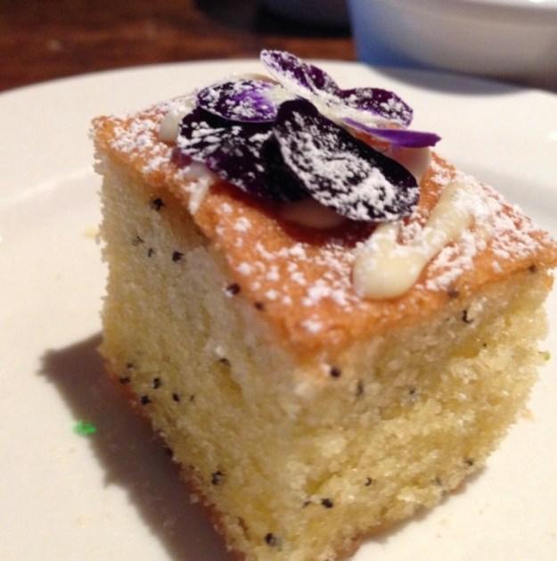 Lavender & Poppy Seed Cake