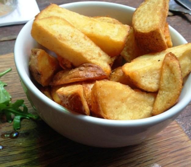 Thrice Fried Fries