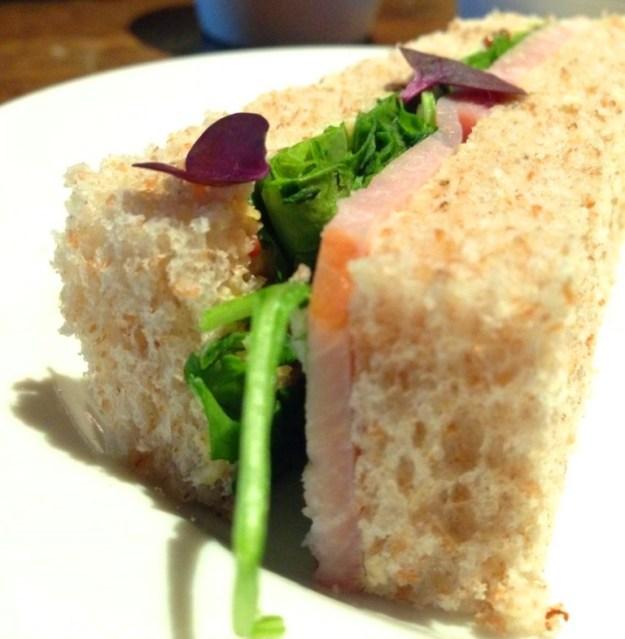 Limerick Baked Ham, Wholegrain Mustard & Wild Rocket