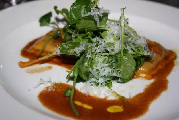 Braised Duck & Taleggio Cheese Ravioli