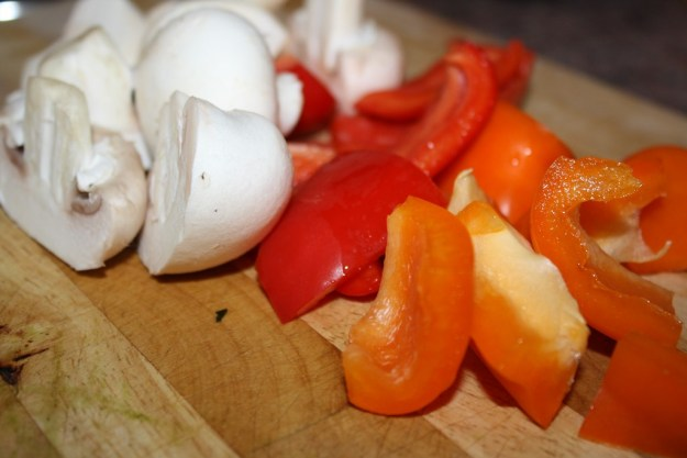 Mushrooms & Peppers