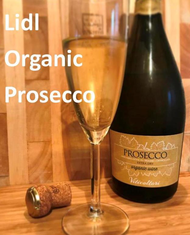 Lidl Organic Prosecco