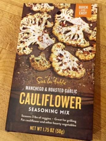 Enough mix for three cauliflower heads