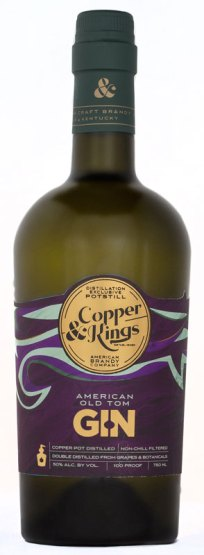 Copper & Kings' Old Tom gin will rest 3-6 months in brandy barrels before release later this year.