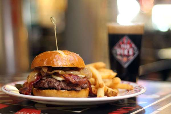 2. Bison Burger & Stout A