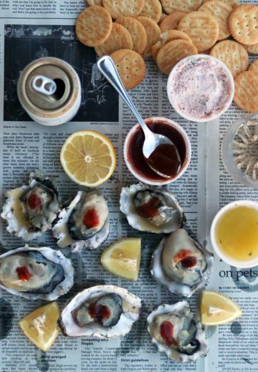 Oysters at The Breakers