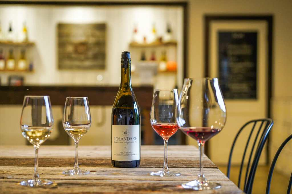 Emandare Vineyards in Cowichan, BC