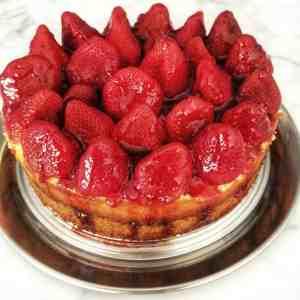 Sunday Dessert: Strawberry Cheesecake