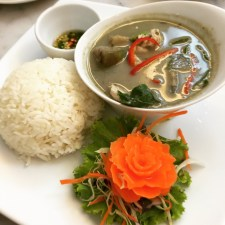 Green Curry (Chicken) with Rice