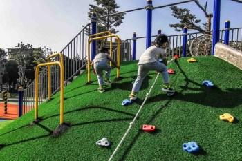 桃園親子景點 兒童駕駛訓練公園(文化公園)-桃園首座兒童體驗駕駛訓練公園,共融式遊戲場附停車交通2020