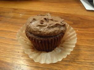 Assembled cupcake and forsting!
