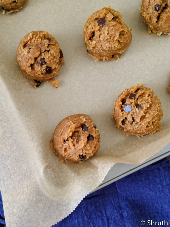 Peanut Butter Chocolate Chip Cookies 2
