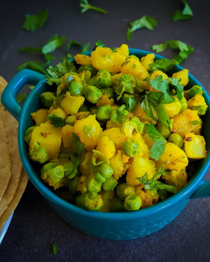 Spiced Potato and Peas
